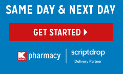 SAME DAY & NEXT DAY | GET STARTED | Kmart pharmacy | scriptdrop Delivery Partner